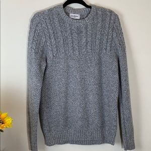 Goodiellow Sweater cable pullover long sleeve